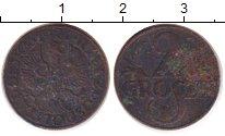 Изображение Барахолка Польша 2 гроша 1927 Медь VF-