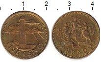 Изображение Дешевые монеты Барбадос 10 центов 1979 Медь XF-