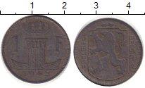 Изображение Дешевые монеты Бельгия 1 франк 1945 Цинк VF