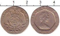 Изображение Дешевые монеты Испания 20 пенсов 1982 Медно-никель XF-