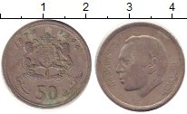 Изображение Барахолка Таиланд 50 сатанг 1974 Медно-никель XF
