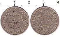 Изображение Дешевые монеты Польша 20 грош 1923 Медно-никель XF-