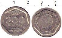 Изображение Барахолка Испания 200 песет 1987 Медно-никель XF