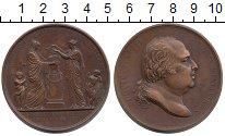 Монета Франция Медаль Медь 1817 XF