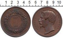 Изображение Монеты Франция медаль 1856 Медь XF-