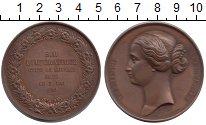 Изображение Монеты Франция медаль 1854 Медь XF