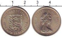 Изображение Монеты Остров Джерси 10 пенсов 1968 Медно-никель UNC-