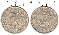 Изображение Монеты Веймарская республика 5 марок 1932 Серебро UNC-