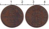 Изображение Монеты Пруссия 2 пфеннига 1867 Медь VF