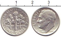 Изображение Монеты США 1 дайм 1946 Серебро XF