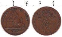 Изображение Монеты Бельгия 2 сантима 1876 Бронза VF