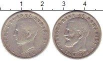 Изображение Монеты Румыния 1 лей 1906 Серебро VF 40 лет Правления Кар
