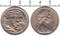Изображение Монеты Австралия 20 центов 1975 Медно-никель UNC-
