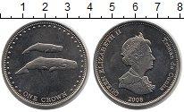 Изображение Монеты Тристан-да-Кунья 1 крона 2008 Медно-никель Proof-