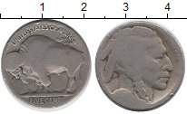 Изображение Монеты США 5 центов 0 Медно-никель VF бизон