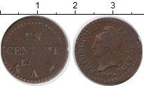 Изображение Монеты Франция 1 сантим 0 Бронза VF