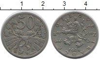 Изображение Монеты Чехословакия 50 хеллеров 1924 Медно-никель XF-