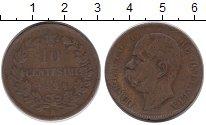 Изображение Монеты Италия 10 сентесим 1894 Бронза VF