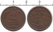 Изображение Монеты Австрия 2 геллера 1912 Бронза XF