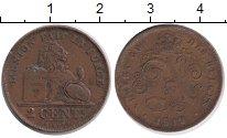 Изображение Монеты Бельгия 2 сентима 1913 Бронза XF