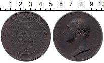 Изображение Монеты Великобритания Медаль 1827 Медно-никель VF- Джордж Каннинг