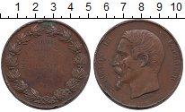 Изображение Монеты Франция Медаль 1858 Медь VF
