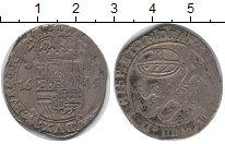 Изображение Монеты Брабант 1 эскалин 1643 Серебро VF Испанские Нидерланды