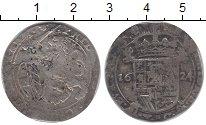 Изображение Монеты Брабант 1 эскалин 1624 Серебро VF Испанские Нидерланды