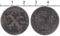 Изображение Монеты Нидерланды 20 лиардов 1751 Серебро VF
