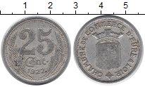 Изображение Монеты Франция 25 сентим 1922 Алюминий VF Токен.Эр и Луар
