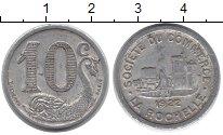 Изображение Монеты Франция 10 сантимов 1922 Алюминий VF
