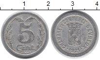 Изображение Монеты Франция 5 сантим 1921 Алюминий  Токен города Эврё