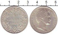 Изображение Монеты Бавария 1 гульден 1841 Серебро XF+ Людвиг I.