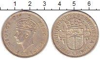 Изображение Монеты Родезия 1/2 кроны 1942 Серебро XF Георг VI
