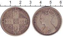 Изображение Монеты Великобритания 1 флорин 1873 Серебро VF Королева  Виктория.