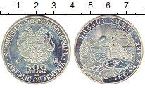 Изображение Монеты Армения 500 драм 2011 Серебро Proof- Ноев Ковчег.Голубь