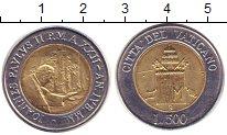 Изображение Монеты Ватикан 500 лир 2000 Биметалл XF