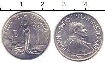 Изображение Монеты Ватикан 10 лир 1982 Алюминий VF