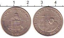 Изображение Монеты Ватикан 100 лир 2000 Медно-никель VF