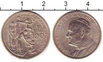 Изображение Монеты Ватикан 100 лир 1996 Медно-никель VF