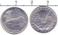Изображение Монеты Сан-Марино 1 лира 1997 Алюминий XF