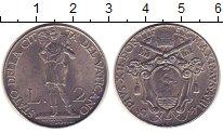 Изображение Монеты Ватикан 2 лиры 1941 Железо XF