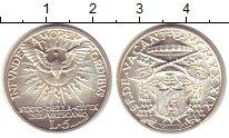 Изображение Монеты Ватикан 5 лир 1939 Серебро XF