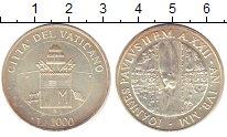 Изображение Монеты Ватикан 1000 лир 2000 Серебро XF