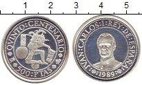 Изображение Монеты Испания 500 песет 1989 Серебро Proof-