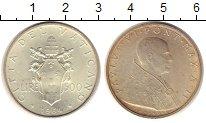 Изображение Монеты Ватикан 500 лир 1964 Серебро XF
