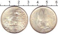 Изображение Монеты Ватикан 500 лир 1966 Серебро UNC