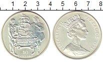 Изображение Монеты Барбадос 10 долларов 1991 Серебро UNC