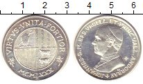 Изображение Монеты Андорра жетон 1970 Серебро UNC-