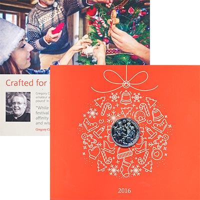 Изображение Подарочные наборы Великобритания Рождество 2016 Серебро BUNC